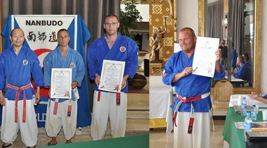 Nomination of the first Dai Shihans (9th Dan)