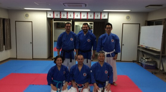 Lluis Cami and her students visiting Japan