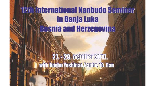 Banja Luka- Bosnia Herzegovina- 27/29 october 2017