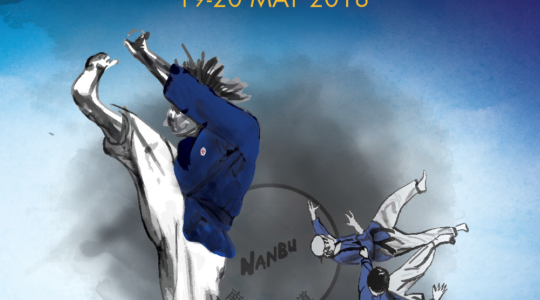 European Nanbudo Championship in Paris - 19-20 May 2018