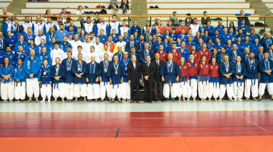 Nanbudo European Championship Paris 2018 results